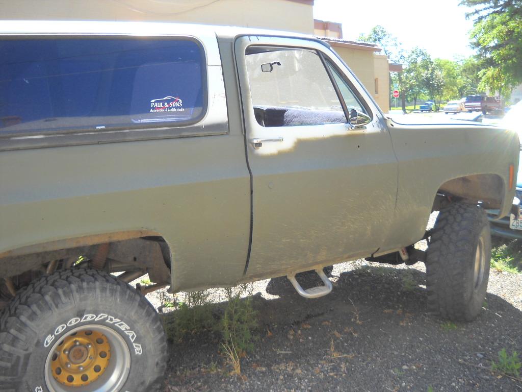 Details For Chevrolet Blazer K5